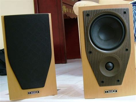 mission bookshelf speaker used