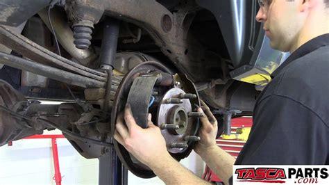 install oem rear drum brakes  gmc sierra youtube