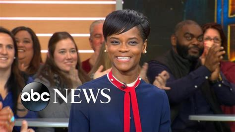 letitia wright good morning america black panther breakout star letitia wright sit down with