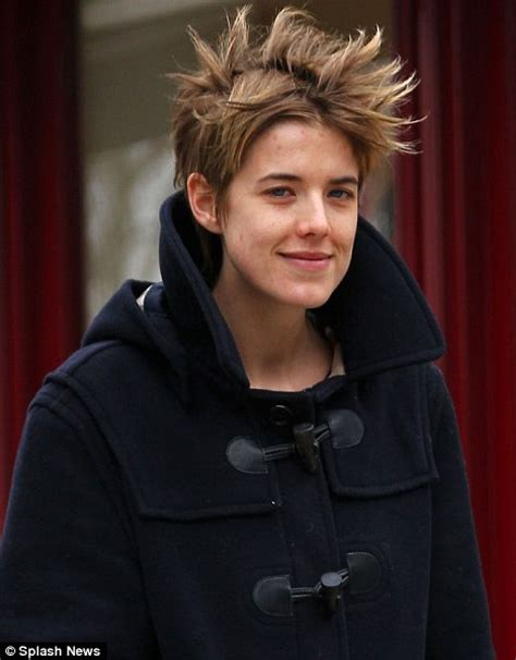 Before She Was Aygness Deyn She Was From The Chip Shop by Make Up Free Agyness Deyn Steps Out Looking Tired And