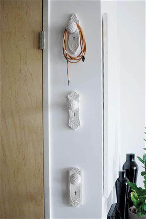 vintage door knob hooks