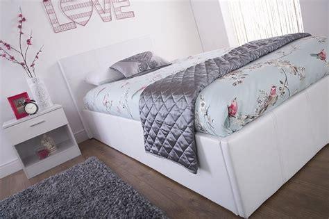 bed end ottoman storage end lift ottoman storage white single bed frame