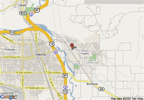 map usa yakima map of oxford inn yakima yakima