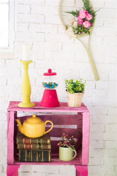 mueble con caja de frutas mueble con caja de fruta diy la chimenea de las hadas