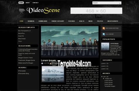 blogger movie themes free blogger movies blue blog web2 0 template
