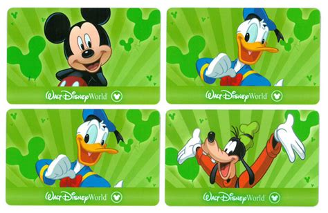 Disney Gift Card Expiration - 4 one day hopper passes to disney world theurer auction