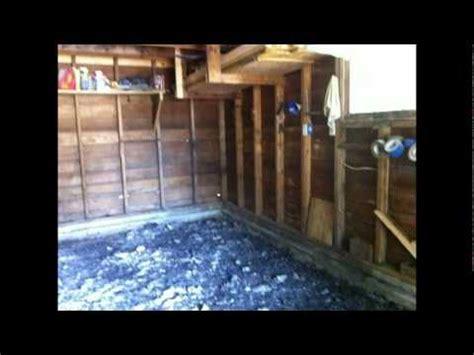 Dirt Garage Floor Cover by Replacing A Garage Floor Mpg