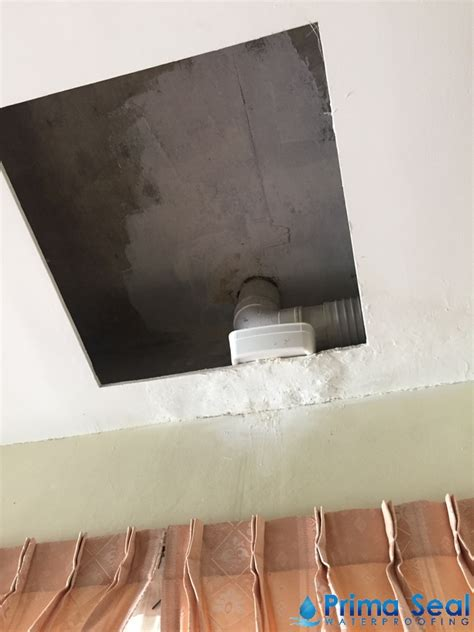 fix leak in ceiling condo ceiling leak prima seal waterproofing singapore
