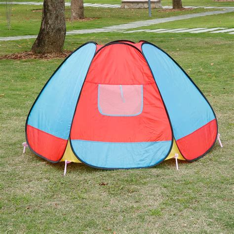 play tents for toddlers colorful pop up play tent hexagonal folding playhouse outdoor ebay