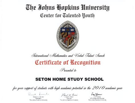 accreditation seton home study school
