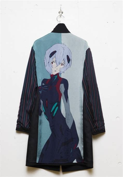 Shikinami Asuka Jacket Evangelion 1 anime magazine apparel brand yohji yamamoto offers