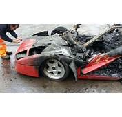 Insolite  Sa Ferrari F40 Br&251le Imm&233diatement Apr&232s