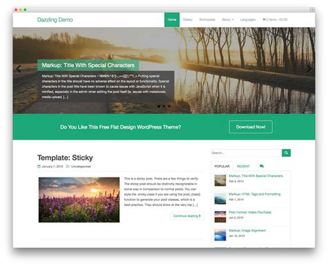 template page wordpress 32 free themes for effective content marketing