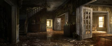 Apocalypse Room by Unity 5 Post Apocalyptic House Interior Polycount