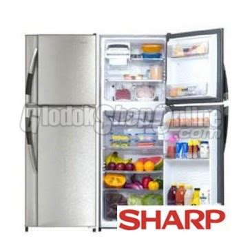Freezer Sharp Frv 125 kulkas 2 door sharp samurai series sj f231s rd 2 pintu