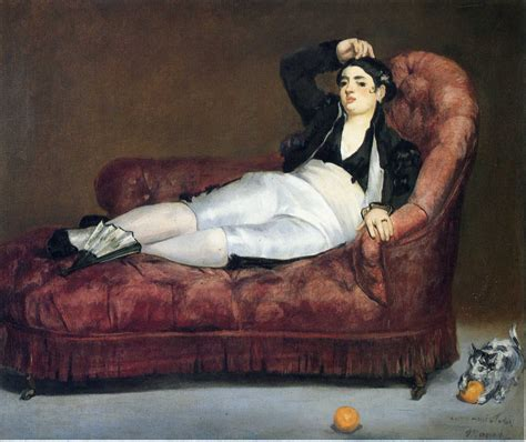 Young Woman Reclining In Spanish Costume Edouard Manet