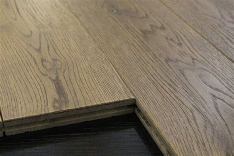 wide plank solid hardwood flooring 7 9 aged gray oak solid wood flooring wide plank
