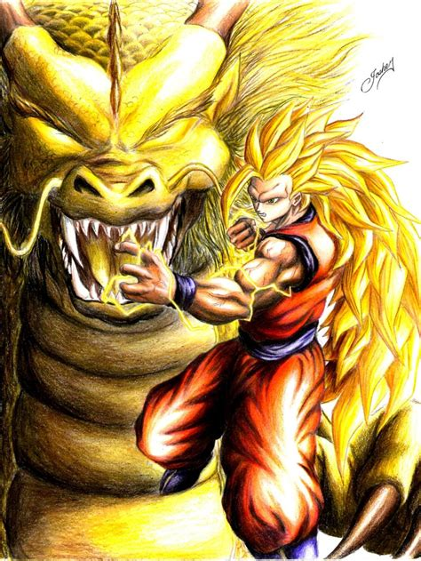 imagenes de up art el ataque del drag 243 n dbz art dragon ball imagenes