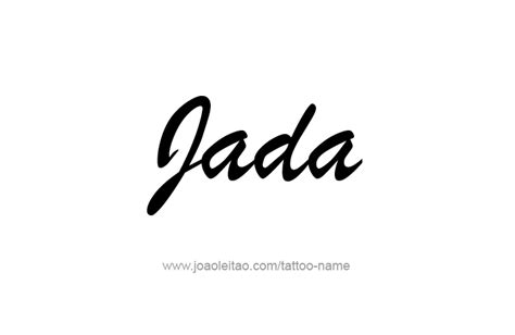 jada  tattoo designs