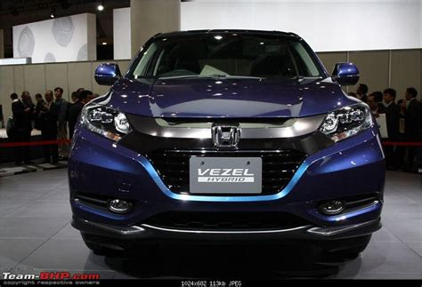 honda reveals vezel urban suv team bhp