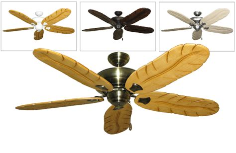 tropical ceiling fan blades tiara tropical ceiling fan with 58 inch arbor 500 carved