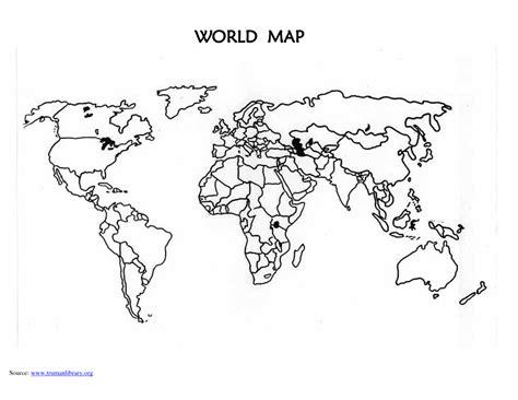 images  blank world maps printable