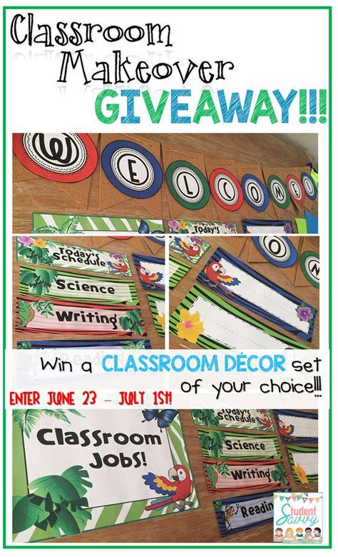 Decor Giveaway - studentsavvy classroom decor giveaway