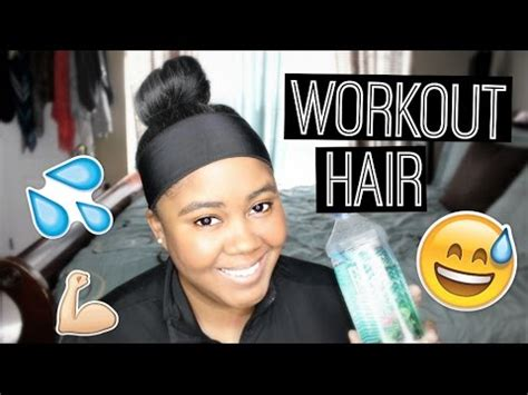transitioning tips protect hair during a workout youtube