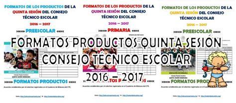 formatos de productos y material para la sexta sesin de cte marzo formatos de los productos de la quinta sesi 243 n del consejo