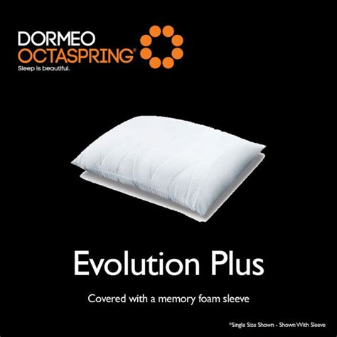 Dormeo Octaspring Evolution Memory Pillow by Dormeo Octaspring Evolution Plus Pillow At Smiths The Rink