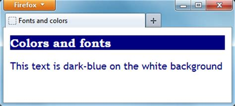 text background color html web page design