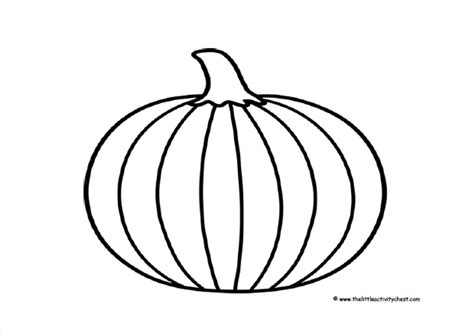how to cut out a pumpkin for pumpkin outline printable coloring home
