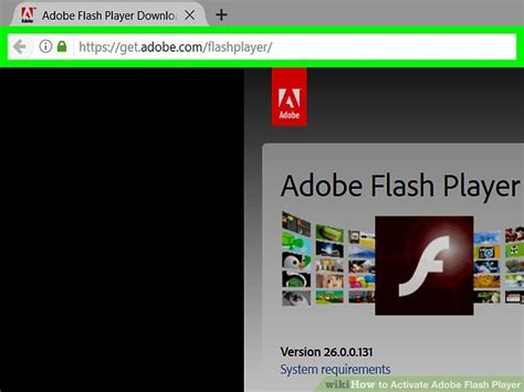 full version of adobe flash player software how to activate adobe flash player 12 steps with pictures