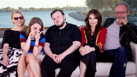 Gamis Family 2015 9 Of Thrones Get Silly Aboard Our Comic Con