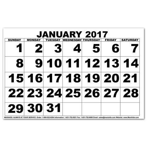Calendar Large Maxiaids Large Print Calendars Printable Calendar