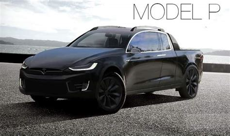 2019 Tesla Model U by Elon Musk S Top Priority 2019 Tesla Model P Truck