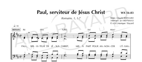 paul serviteur de christ torrent paul ap 244 tre des nations jo akepsimas ensemble vocal