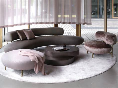 Modern Sofa Set Design Ideas by Seductive Curved Sofas For A Modern Living Room Design