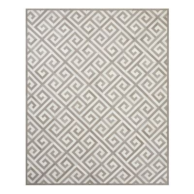 Buy Gift Card Online Pickup In Store - greek key pieced hide rug dove ivory williams sonoma