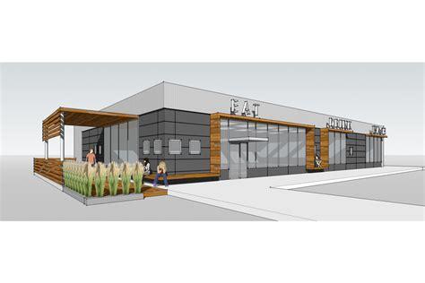 Small Contemporary Homes restaurant exterior design ideas home designs ideas