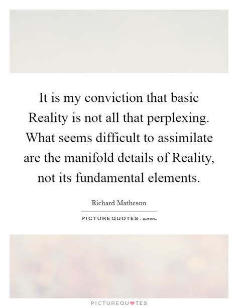 reality is not what my conviction quotes sayings my conviction picture quotes