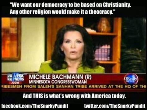 Michele Bachmann Meme - michele bachmann quotes on religion quotesgram