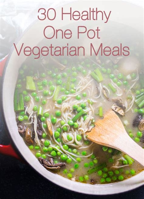 healthy  pot vegetarian meals ifoodreal healthy