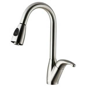 Stainless Kitchen Faucet Vigo Stainless Steel Pull Out Spray Kitchen Faucet The Home Depot Canada