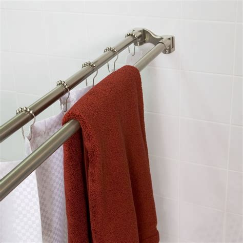 curved shower curtain rod target shower rod bowed shower curtain rod ideas adjustable