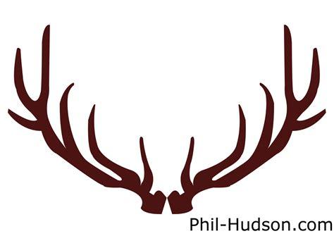 deer antler clip horns clipart buck antler pencil and in color horns