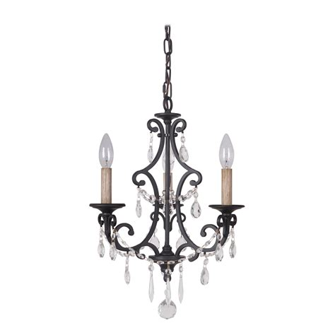 Black Mini Chandelier Jeremiah By Craftmade Bentley Matte Black Three Light Mini Chandelier On Sale