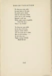 Poetryfoundation org poem 173693 dream variations by langston hughes
