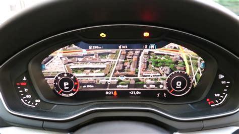 Audi Virtual Cockpit by Audi A4 Virtual Cockpit Bedienung 2017 Youtube