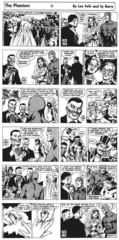 12 the phantom the complete newspaper dailies by falk and wilson mccoy ã volume twelve 1953 1955 books ask the archivist the phantom wedding comics kingdom